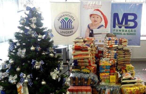 Campanha arrecada 3,8 tonelada de alimentos na Capital