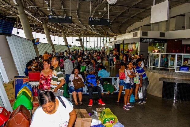 Mais de 160 mil passageiros devem passar pelo Terminal Rodoviário de Campo Grande