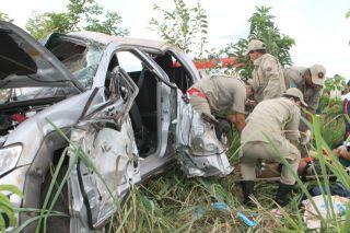 Acidente resulta em dois mortos  na BR-262