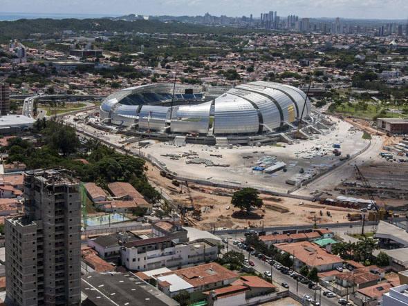 Dilma inaugura hoje Arena das Dunas; faltam agora 5 estádios