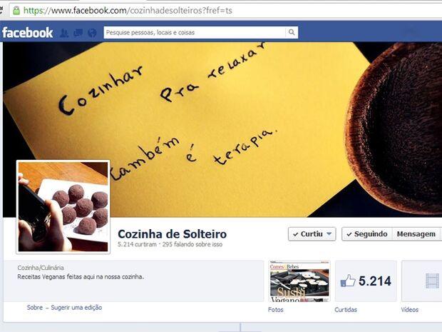 Jovem de Corumbá cria página sobre receitas veganas e faz sucesso no Facebook