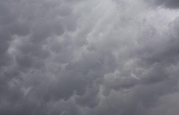 Campo Grande amanhece com garoa fina e previsão de tempo chuvoso neste sábado