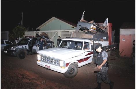 Equipe da Rocam prende quadrilha que agi com furtos e desmanche de veículos