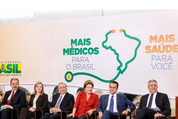 Dilma sanciona Lei do Mais Médicos nesta terça-feira, em Brasília