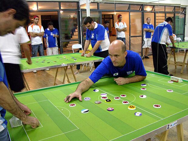 Campo Grande sedia Brasileiro de Futebol de Mesa no fim de semana