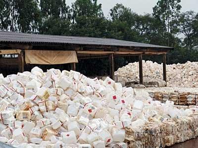 Destinação de embalagens de agrotóxico cresce 12% em todo país