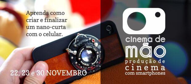 Curso de cinema com smartphone começa hoje na Capital
