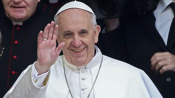 Papa expressa apoio a manifestantes na Itália