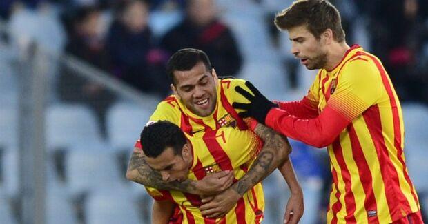 Sem Neymar, Barcelona vence com três de Pedro e mantém liderança na Espanha