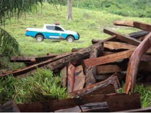 Fazendeiro é multado em R$ 4 mil por exploração ilegal de madeira