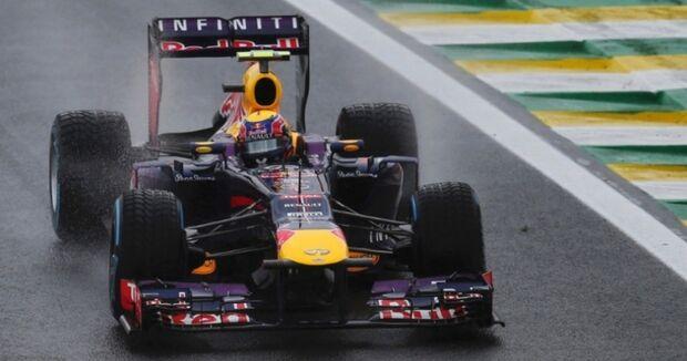 Webber domina 3ª sessão de treinos em Interlagos; Massa fica sem tempo