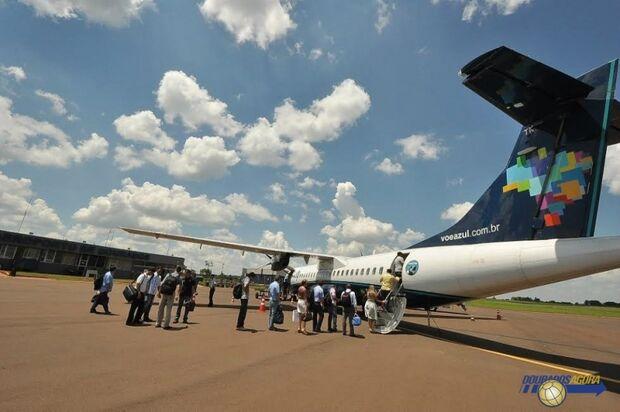 Azul fará mais um voo na semana ligando Dourados a São Paulo
