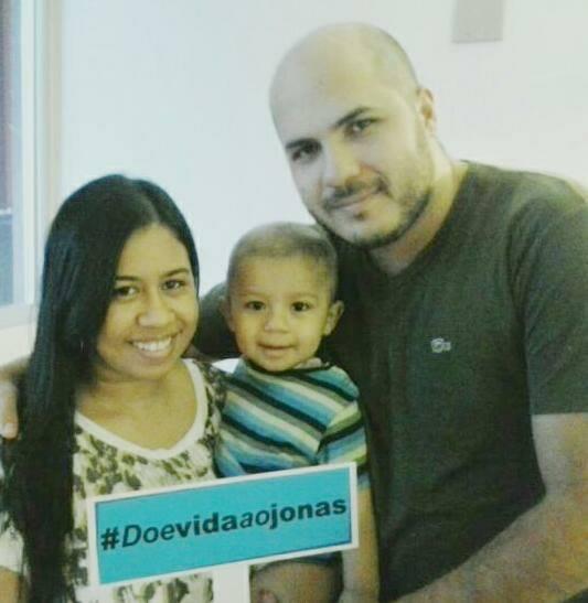 Campanha #doevidaaojonas bomba nas redes sociais para salvar bebê de 1 ano