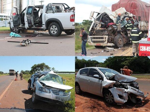 50% maior que janeiro, índice de acidentes de trânsito com mortes sobe na Capital e preocupa autorid