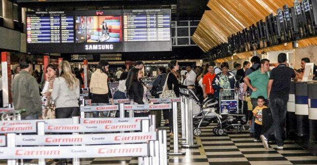 Movimento aeroportuário no carnaval deve ser 10% maior do que em 2013