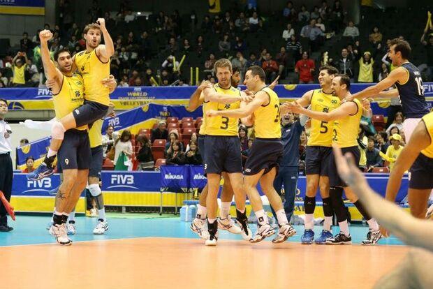 Seleção masculina de vôlei conquista tetra Copa dos Campeões