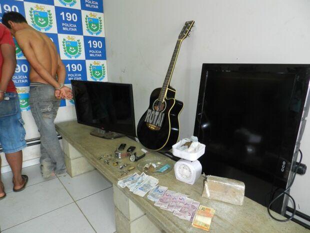 Três são presos pela ROTAI após furto de produtos