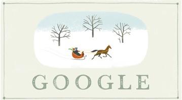 Google comemora com doodle natalino e 'rastreia' Papai Noel
