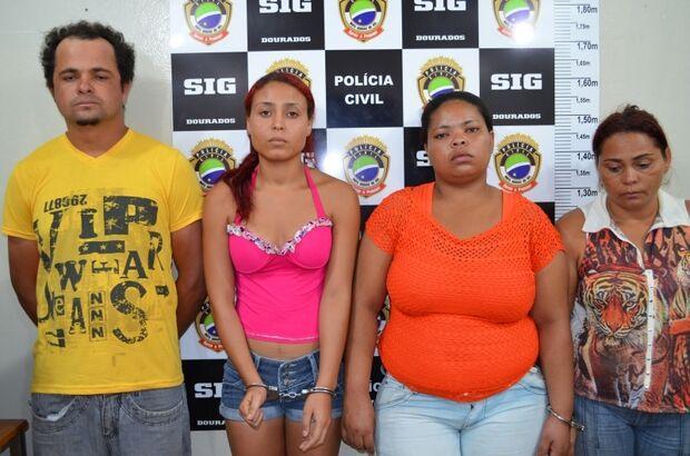 Polícia fecha 'Boca da Maria' e prende quatro pessoas em MS