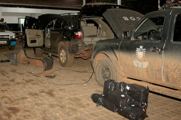 COB apreende mais de 78 Kg de cocaína em Chapadão do Sul