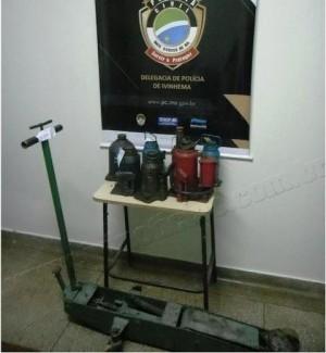 Homem furta oficinas e é preso após tentar vender os equipamentos