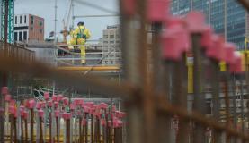 Custo da construção civil tem alta mais suave