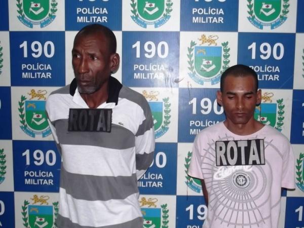 Pai e Filho são presos acusados de tráfico