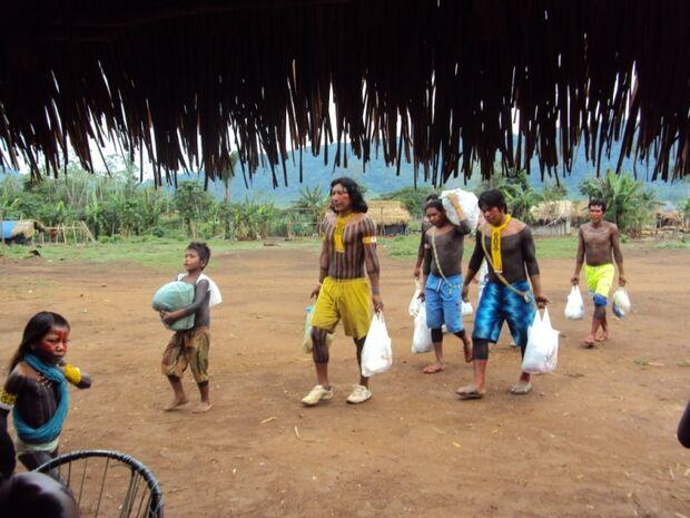 Conab MS doará 45 mil cestas de alimentos para comunidades indígenas