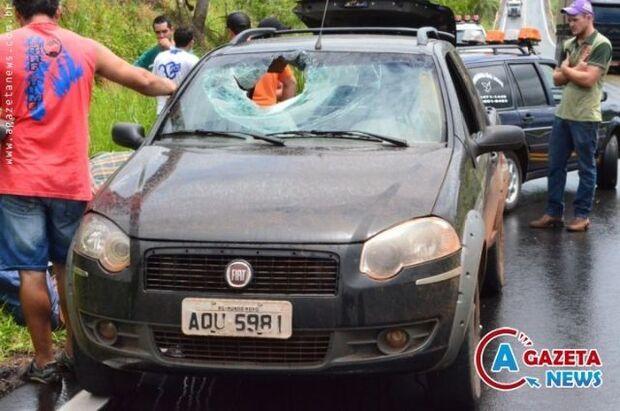 Peça de carreta se solta e mata passageiro que seguia para Iguatemi