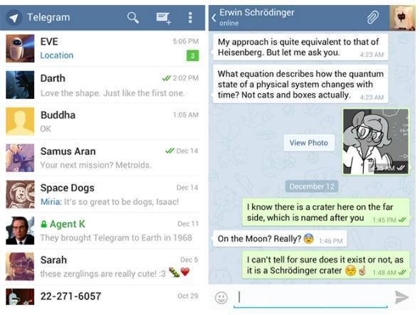 Telegram é o app de troca de mensagens número um do momento