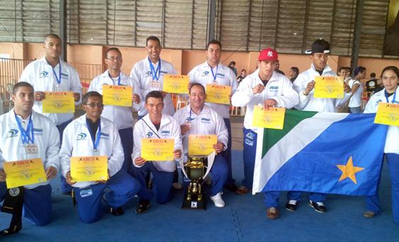 Kung Fu de MS fatura 23 medalhas em Campeonato Brasileiro