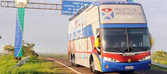 Ônibus da saúde estará no próximo sábado em Mundo Novo