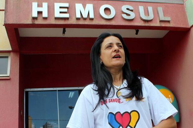 Voluntários lotam corredores do Hemosul para colaborar com campanha nacional
