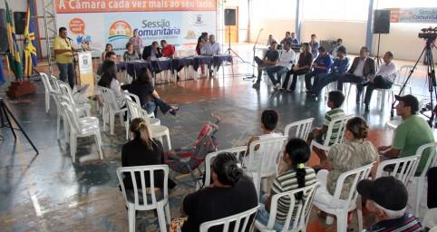 Vereadores realizam sessão comunitária no Tijuca II