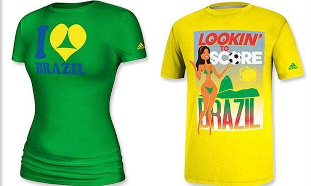 Adidas suspende venda de camisetas que relacionam Brasil e turismo sexual