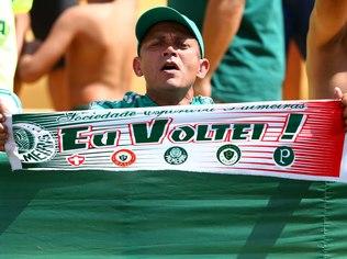 Palmeiras está de volta à primeira divisão do futebol brasileiro