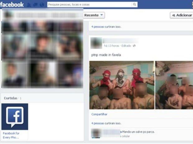 Preso tira foto de dentro da cela no PR e posta no Facebook, diz polícia