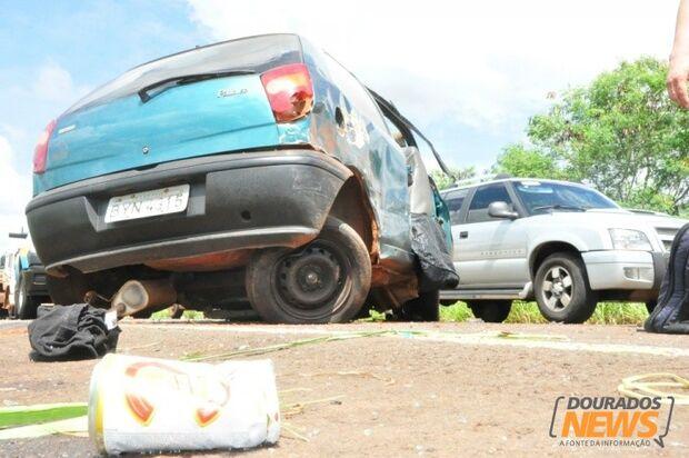 Acidente  entre Ivinhema e Nova Andradina  deixa dois mortos