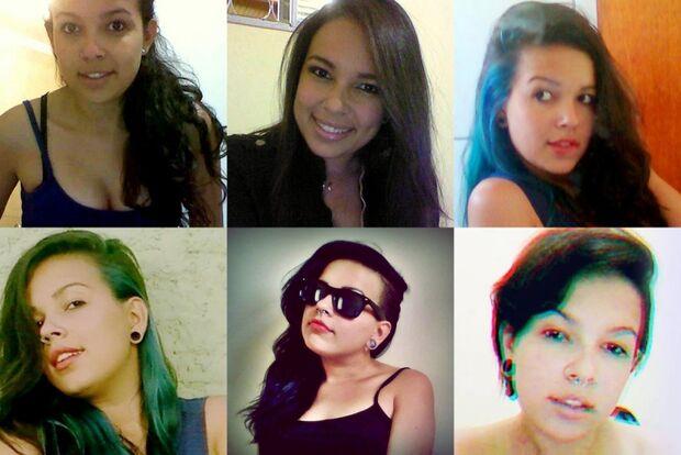 Para se destacar e mostrar personalidade, ela mudou o visual oito vezes em dois anos