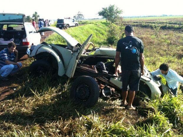 Motorista embriagado provoca acidente e deixa uma vítima fatal na BR-060