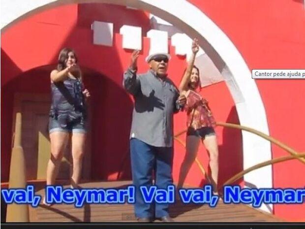 Famoso por hit à Neymar, músico de Campo Grande revela requinte em programa do Ratinho