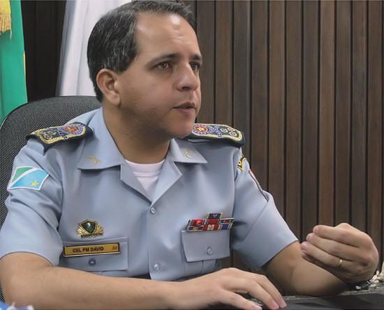 Coronel David discute estruturação das PMs em Brasília