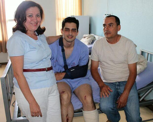 'Nasci de novo' afirma jovem que voou na Afonso Pena em acidente de trânsito