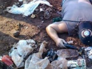 Cadáver é encontrado em lixão