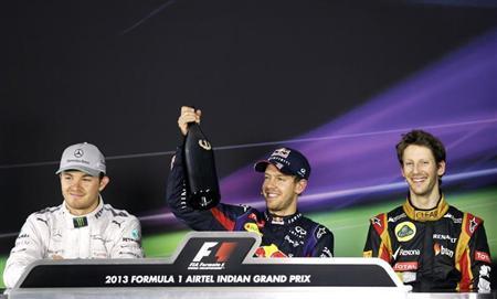 Tetracampeão, Vettel junta-se aos grandes da história da F1 com vitória na Índia
