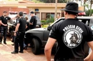 Operação da Polícia Civil termina com 140 pessoas presas em Mato Grosso do Sul