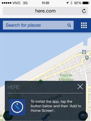 Nokia retira serviço de mapas da loja da Apple e culpa iOS 7