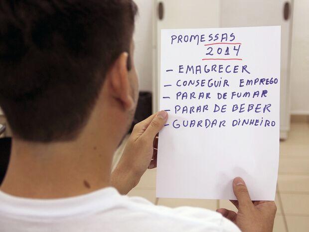 As promessas de ano novo mais comuns entre os campo-grandenses