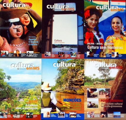 Revista Cultura de MS é lançada hoje no auditório da Governadoria