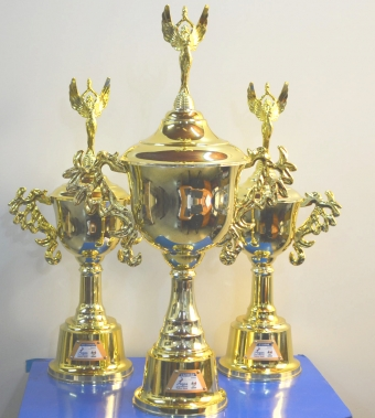 Participantes dos Jogos da Melhor Idade recebem premiação